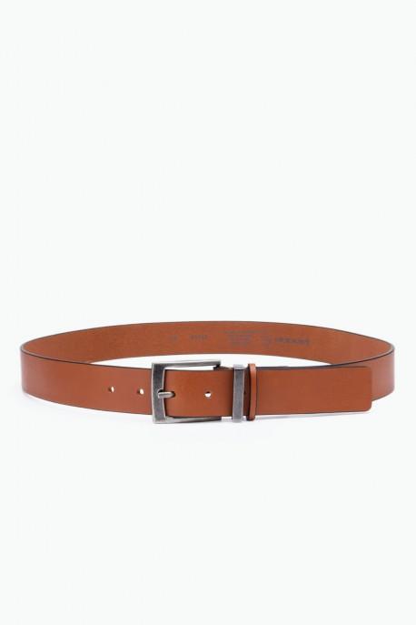 A1517/35 Leather belt - Cognac