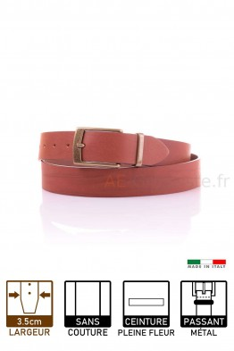 13916 Leather belt Brown