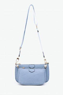 Synthetic crossbody bag YM-5035