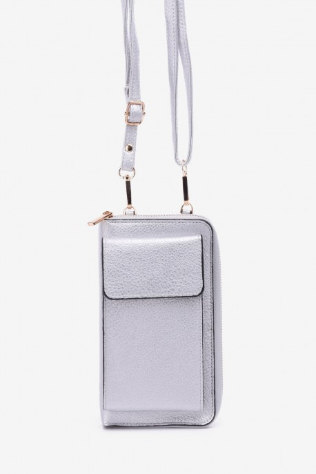 Synthetic crossbody bag for smartphone LX1102