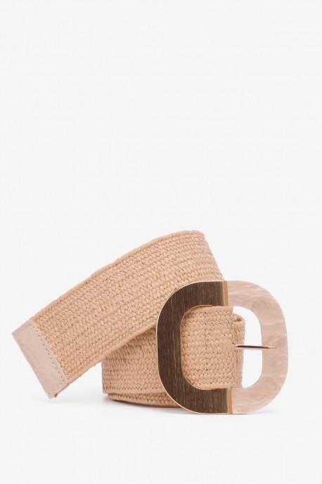 SE-8005 Braided elastic belt straw style