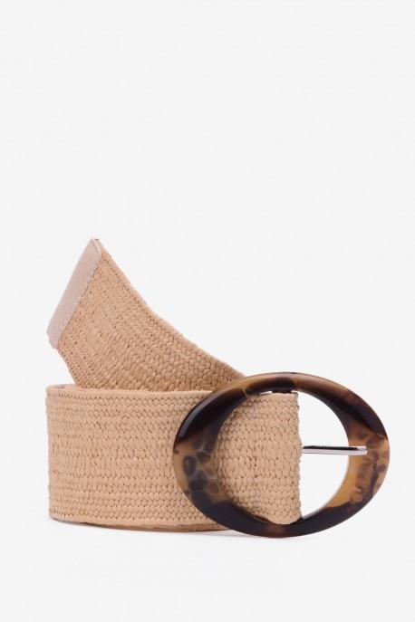 SE-8007 Braided elastic belt straw style