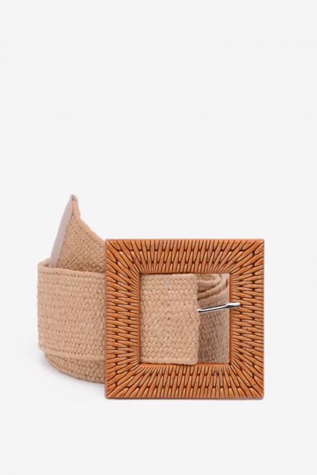 SE-8012 Braided elastic belt straw style