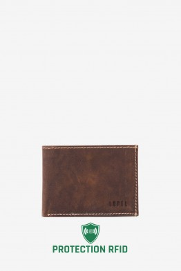LUPEL® AVENTURA - L296AV Leather Wallet with RFID protection