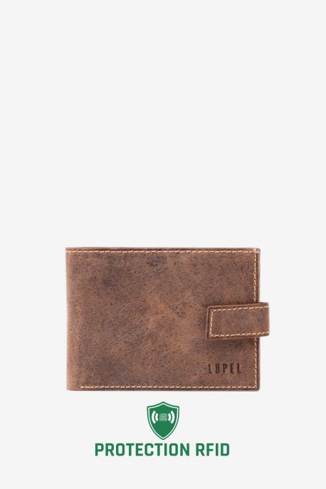 LUPEL® - L410AV Leather Wallet with RFID protection