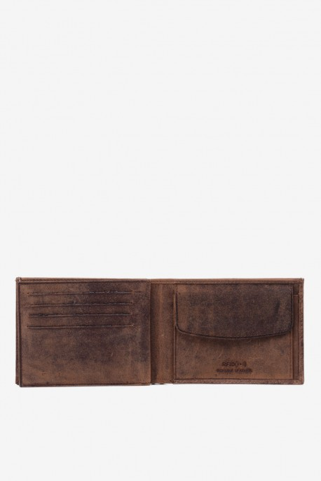 LUPEL® - L415AV Leather Wallet with RFID protection