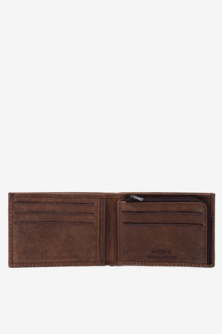 LUPEL® - L510AV leather wallet - With protection RFID