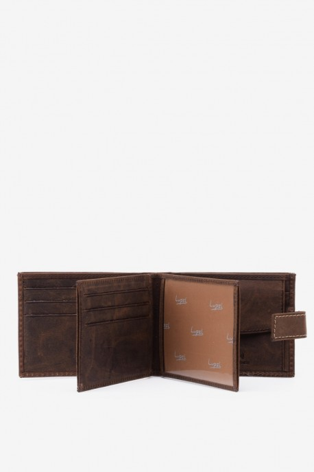 LUPEL® - L523AV AVENTURA Leather Wallet with RFID protection