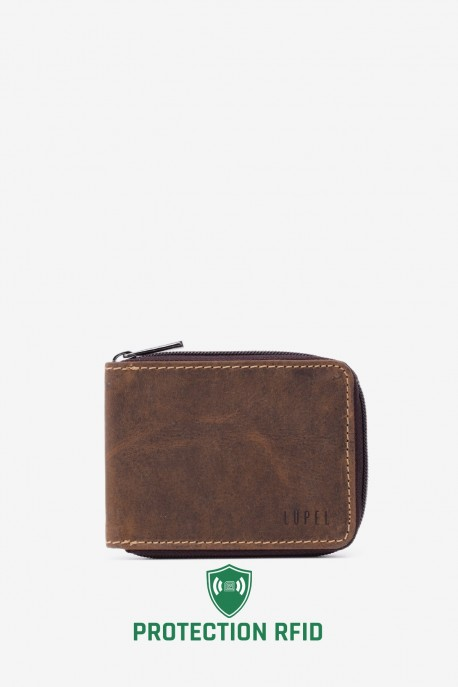 Lupel L534AV Leather wallet With RFID protection