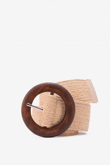 SE-8013 Braided elastic belt straw style