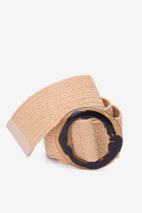 SE-8006 Braided elastic belt straw style