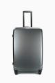 ELITE PUR MATE Set of 3 Polycabonate suitcase E2129 : Color:Gris foncé