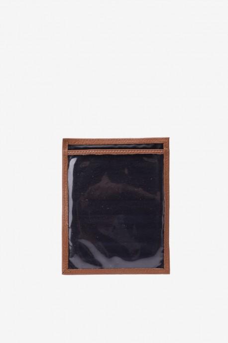"Leather card holder SF6002 ""La Sellerie Française"""