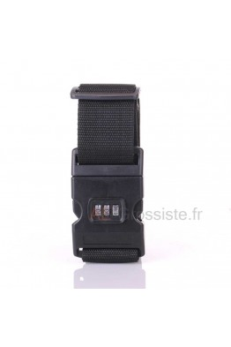 Suitcase Strap with combination lock