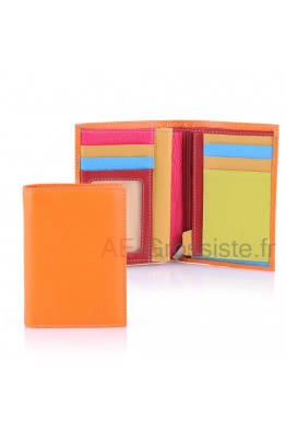 April multicolor leather wallet 28613
