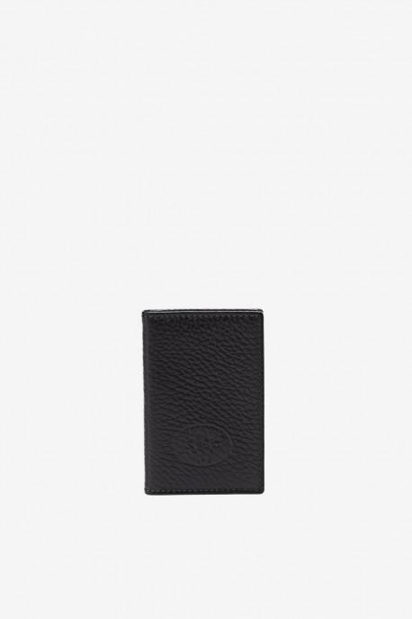 Leather card holder SF6001-G-21T3 - La Sellerie Française