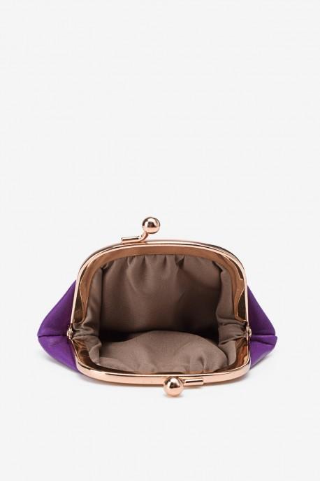 SF450 Leather purse purple