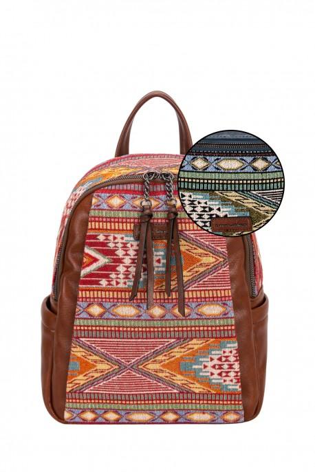DAVID JONES 6651-5 textile backpack