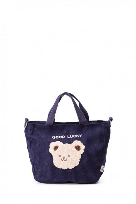 BG6017 Synthetic velor shoulder hand bag
