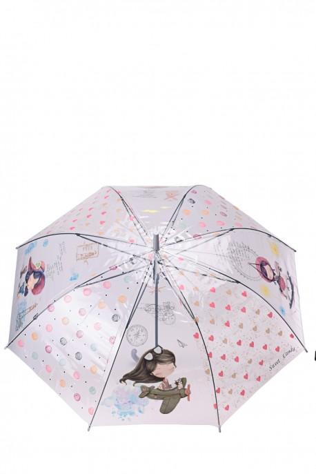 Sweet & Candy P011-21B Cane clear umbrella