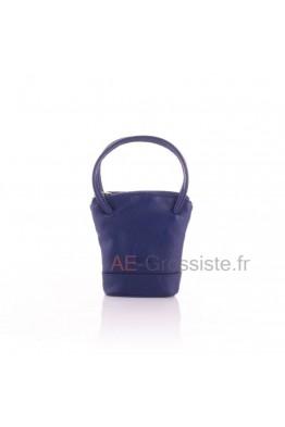 FA210 Porte-monnaie / Trousse clé cuir vachette Fancil
