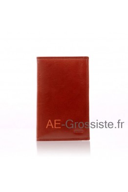 Leather documents holder Spirit R6935
