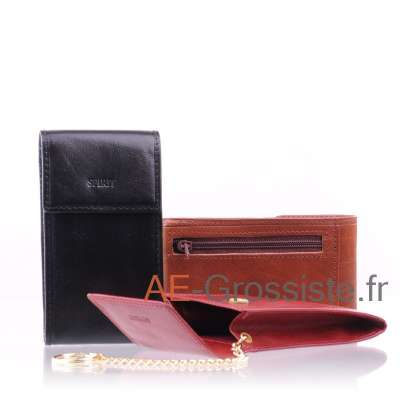 Etui porte clé cuir Spirit R6303
