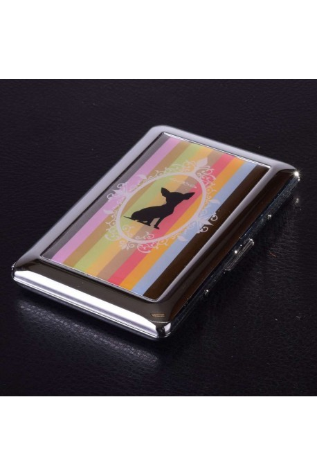 1020-NL Porte-carte Inox