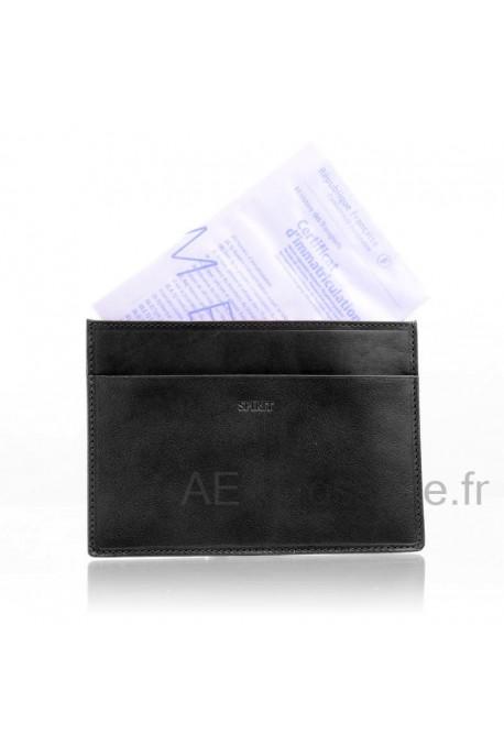 Leather documents holder Spirit R6930