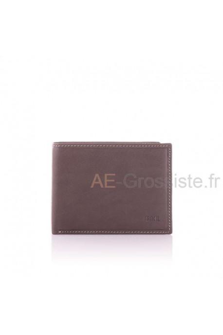 Portefeuille cuir format ltalien Fancil SA908