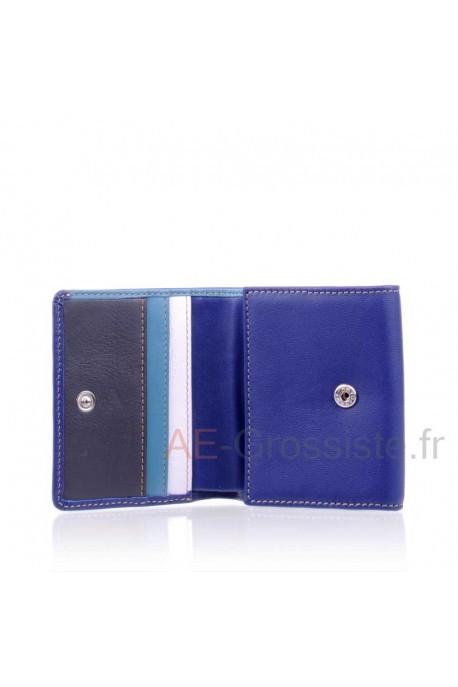 Leather purse Fancil multicolore FA910