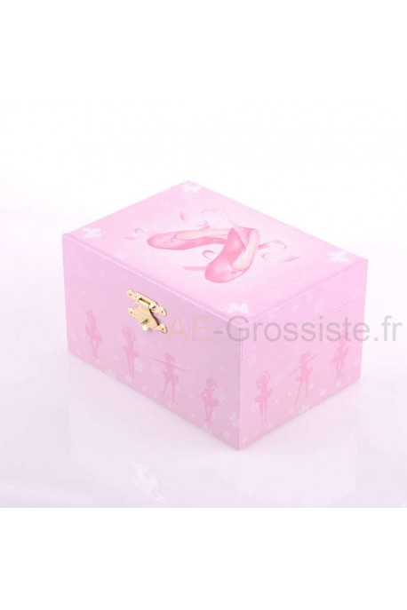 S50975 Coffret musical Chaussons Ballerine - Rose