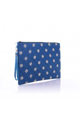 LW6310 Dot pattern Make Up - Blue