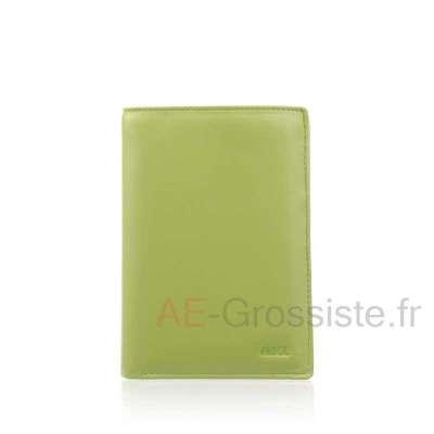 Portefeuille femme multicolore cuir Fancil FA902