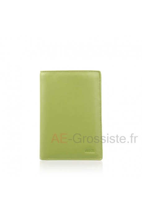 Leather wallet for lady multicolor Fancil FA902