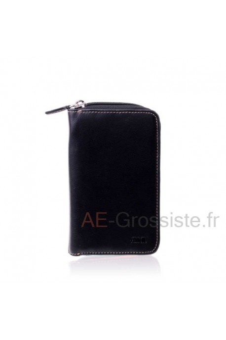 Leather wallet for lady multicolor Fancil FA905