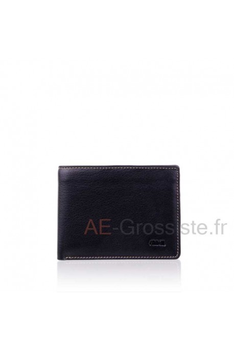 Leather wallet multicolor Fancil FA911