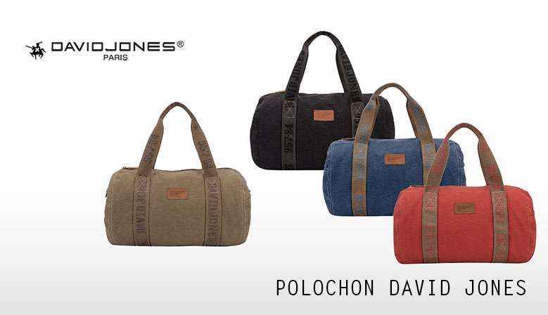 POLOCHON DAVID JONES en toile