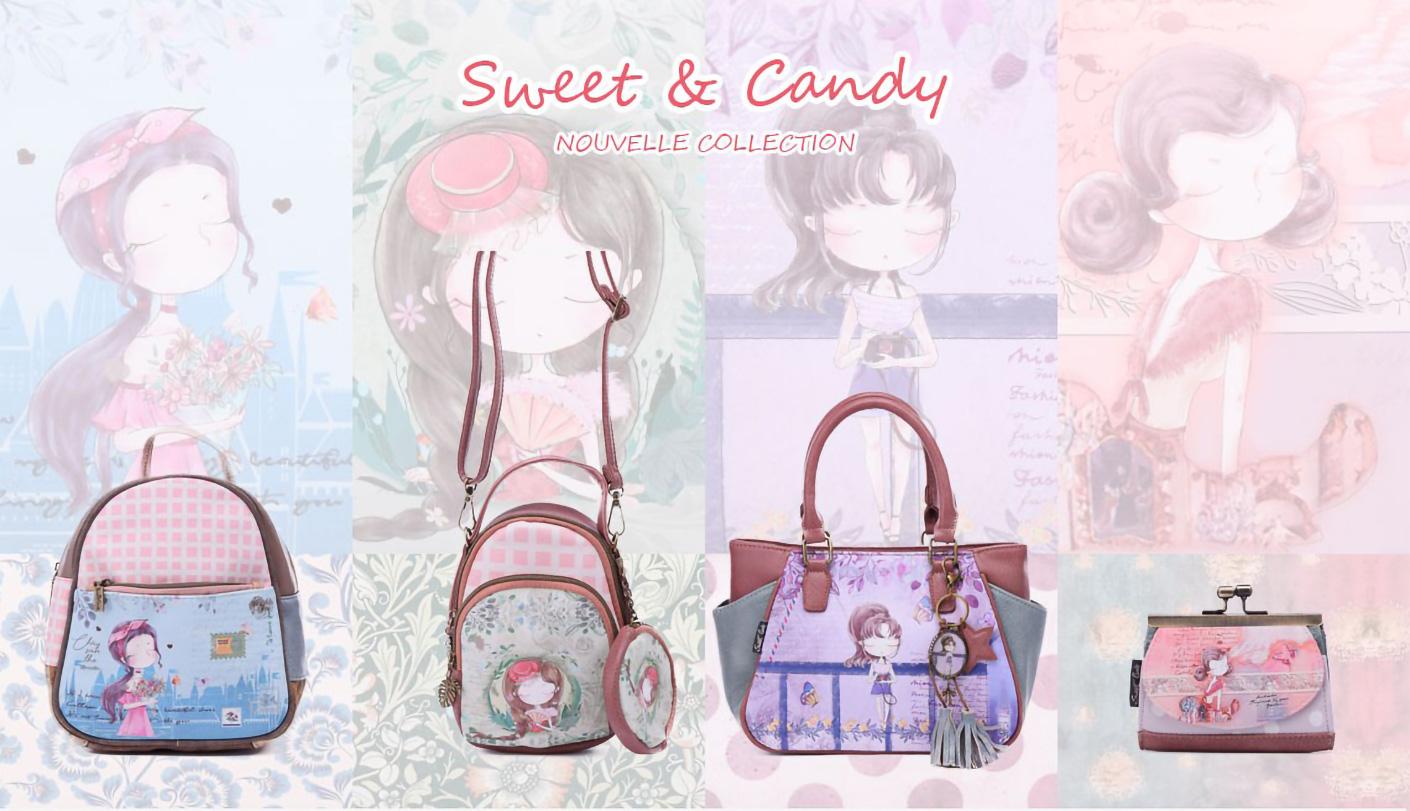Sacs et Accessoires Sweet & Candy Collection complet