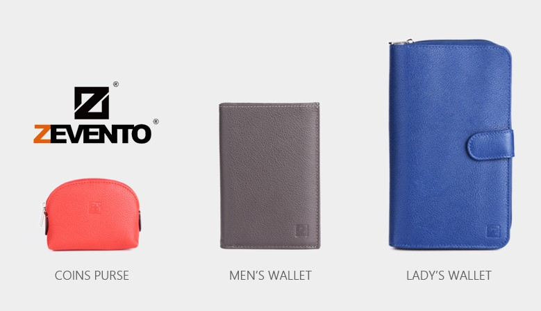 The New ZEVENTO Range - Small Leather Goods in Cowhide Leather
