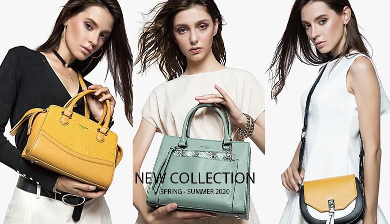 NEW COLLECTION 2020 David Jones Hand Bags Spring - Summer