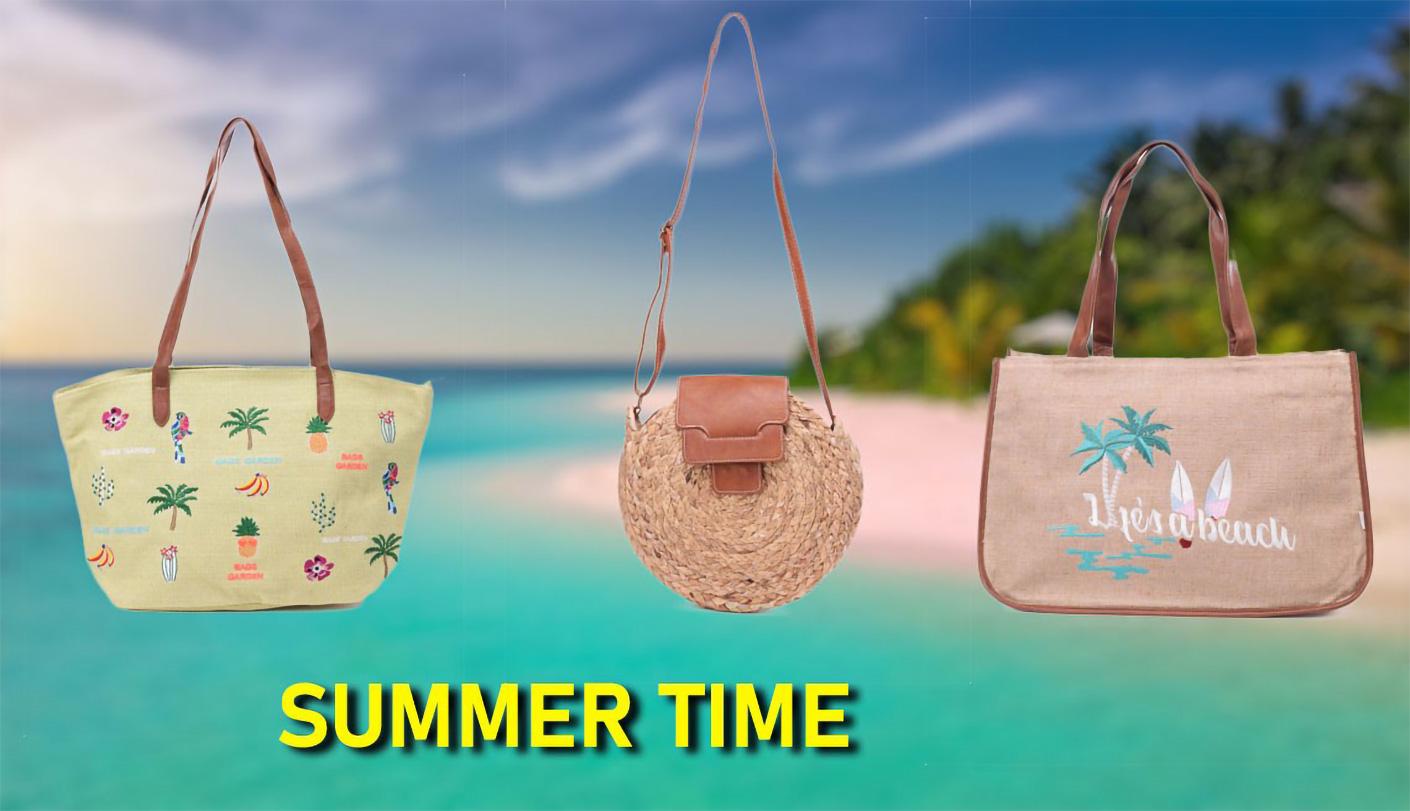 Nos sacs d'été et sacs de plage