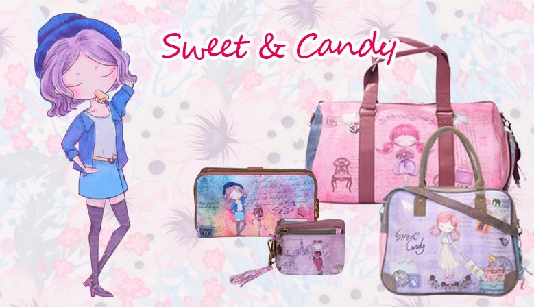 Sacs et Accessoires Sweet & Candy Collection complet