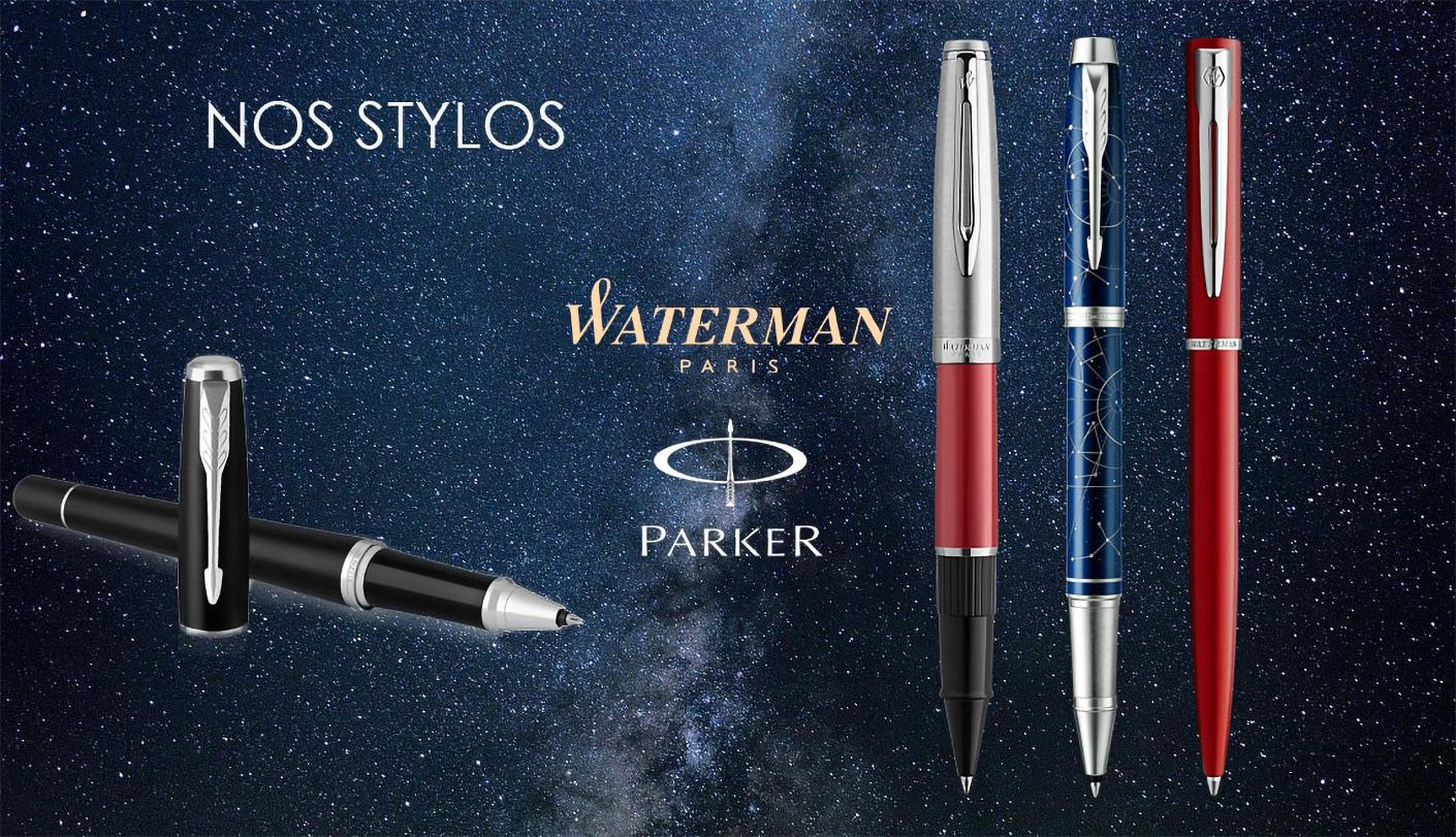 Collection de stylo WATERMAN et Parker